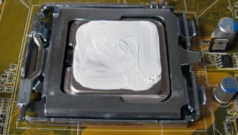 смазать процессор
