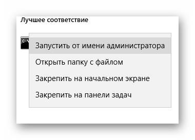запуск командной строки от имени администратора Windows 10