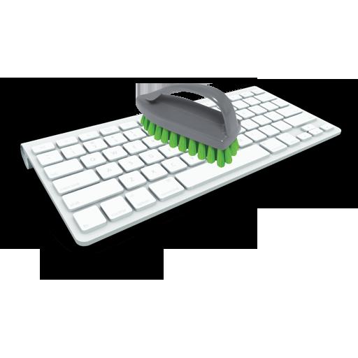 Как очистить клавиатуру компьютера от грязи