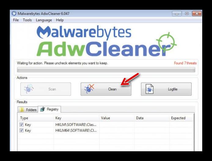 clean adwcleaner