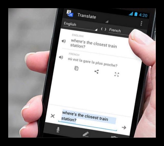 гугл переводчик на смартфоне