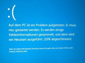 Ошибка Critical Process Died Windows 10 при загрузке как исправить